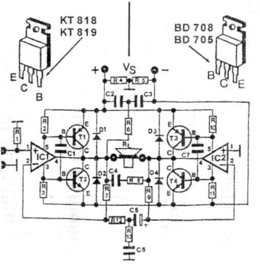 200 Watt High Quality Audio Amplifier Circuit Diagram - Wiring