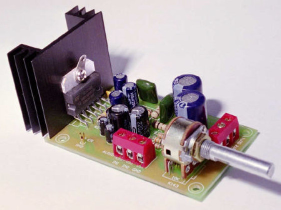 6 10w stereo audio amplifier with ic tda2005 electronic schematic6 10w stereo audio amplifier kit