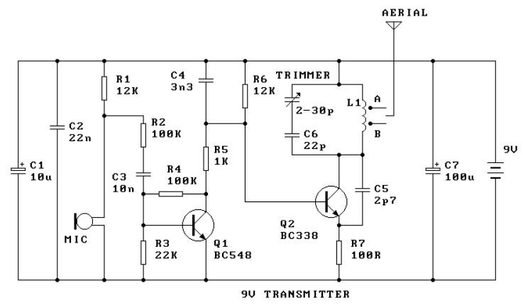 9v Fm Radio Transmitter