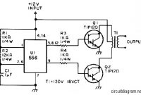 inverter circuit diagram electronic schematic diagram