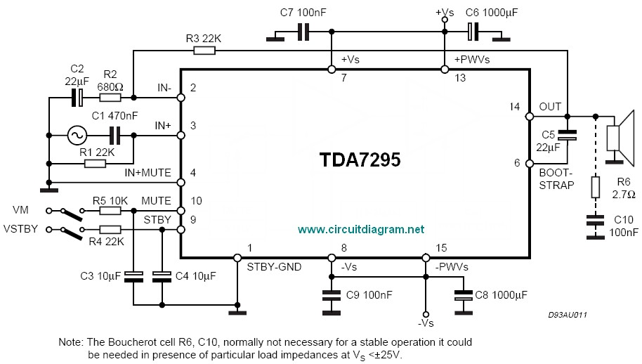 Fantastic 80W Audio Amplifier Using Tda7295 Electronic Schematic Diagram Wiring Cloud Hisonuggs Outletorg