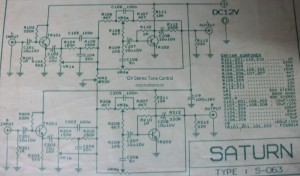 12v stereo tone control electronic schematic diagram12v stereo tone control circuit diagram