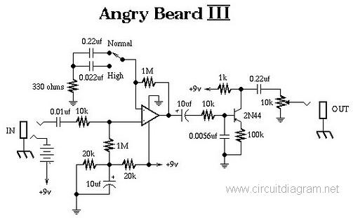 Awe Inspiring Guitar Effects Circuits Basic Electronics Wiring Diagram Wiring Digital Resources Indicompassionincorg