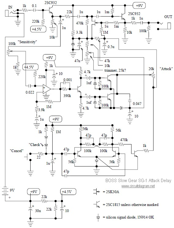 Led Light Circuit Diagram 9v