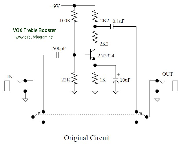 tone booster schematic diagram wiring diagram data valvox treble booster effect electronic schematic diagram tone booster schematic diagram