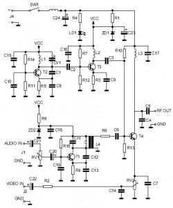Superb Audio Video To Uhf Tv Signal Converter Modulator Electronic Wiring Database Denligelartorg