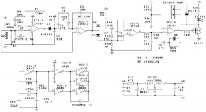 Ultrasonic Motion Detector | Electronic Schematic Diagram