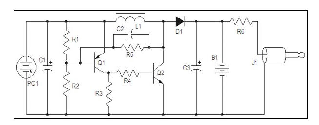 Parts Diagram Furthermore Solar Battery Charger Circuit Diagram