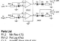 Stereo Headphone Amplifier | Electronic Schematic Diagram