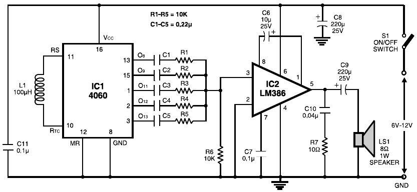 Tremendous Electronic Siren Circuit Electronic Circuits And Diagram Wiring Wiring Digital Resources Antuskbiperorg