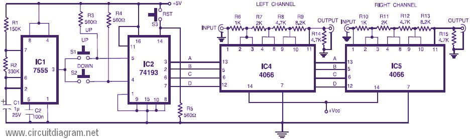 Circuit Diagram Furthermore Audio Tone Control Circuit Diagram On 5