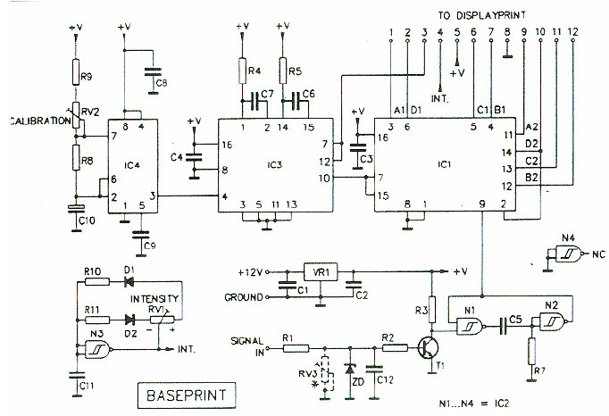 digital tachometer rpm meter electronic schematic diagram form 2s meter wiring diagram digital meter wiring diagrams #14