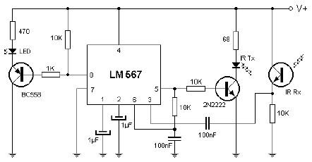 proximity infrared detector electronic schematic diagram Audiovox Car Alarm Wiring Diagram