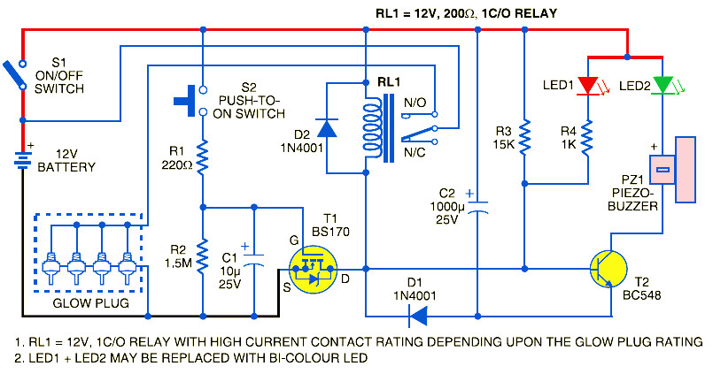 Circuit Diagram Glow Plug Control | Wiring Diagram on