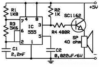 low cost electronic rat repellent electronic schematic diagram