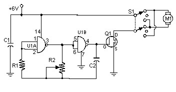 PWM DC Motor Controller with MOSFET | Electronic Schematic ... Dc Motor Controller Schematic on