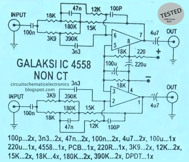 Strange Galaxy Audio Booster Using Rc4558 Electronic Schematic Diagram Wiring Cloud Pimpapsuggs Outletorg