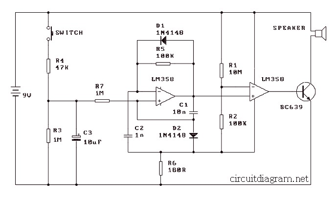 Remarkable Simple Electronic Siren Based Lm358 Electronic Schematic Diagram Wiring Digital Resources Antuskbiperorg