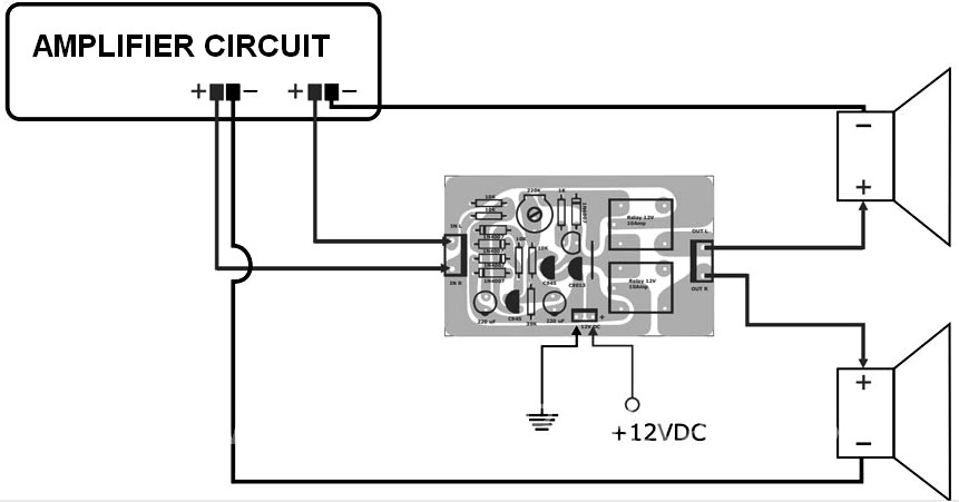Strange Active Speaker Protector Circuit And Pcb Layout Schematic Design Wiring 101 Cabaharperaodorg